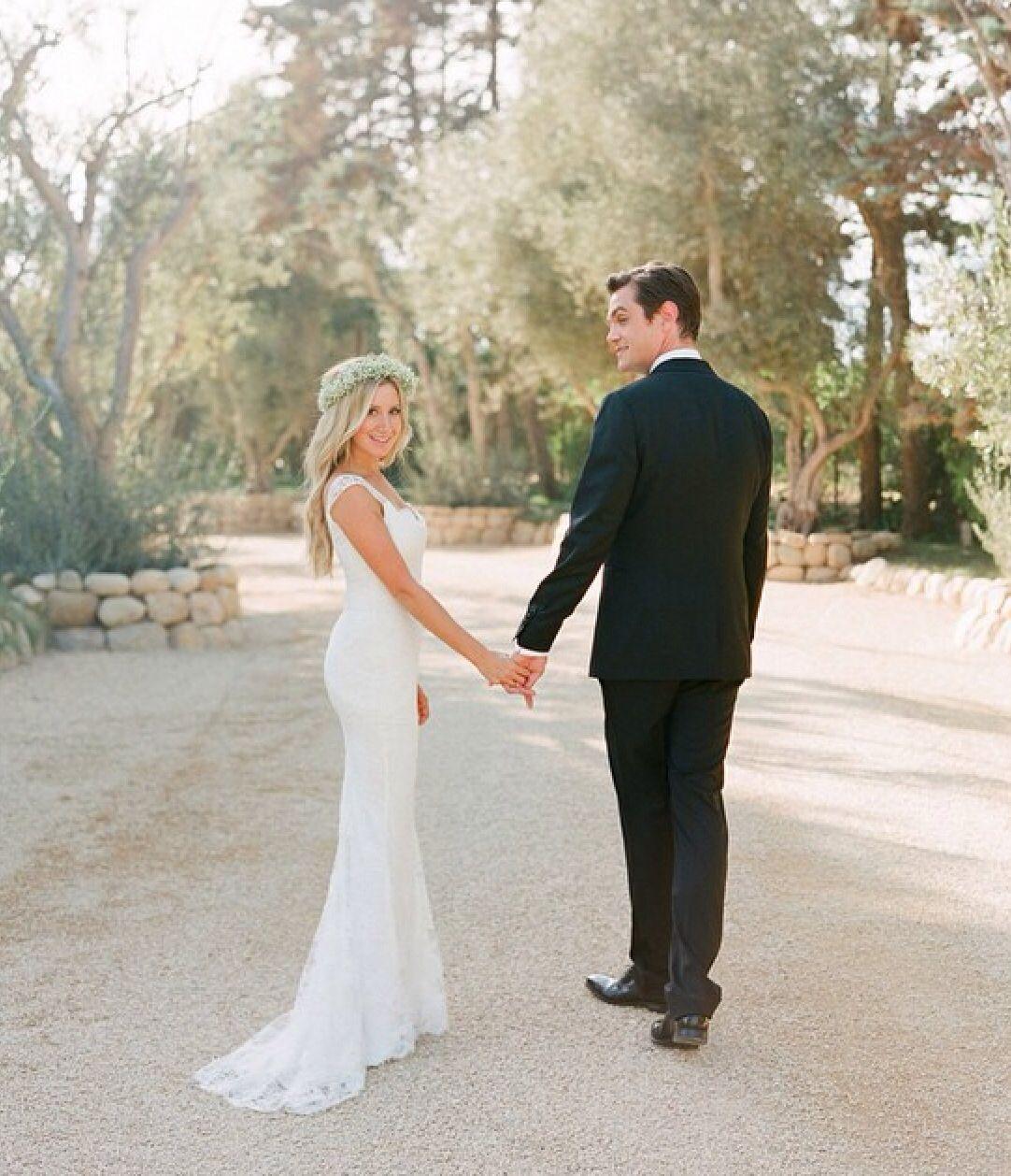 Valentino wedding dress  Ashley Tisdale Wedding  Little Girl Dreams  Pinterest  Ashley
