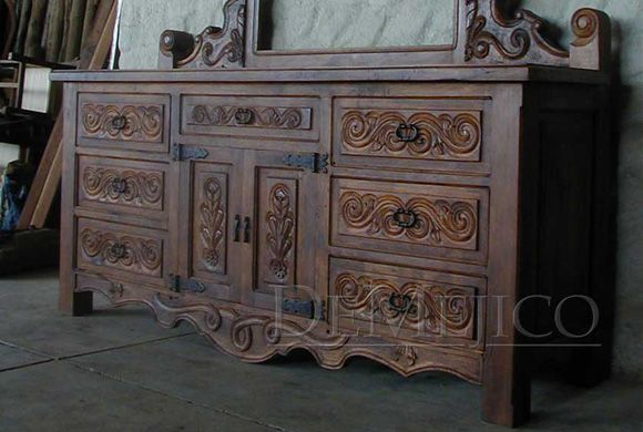 The Spanish Style Dresser Has Been Carefully Designed With Elements From  Our Traditional Conquista Collection.