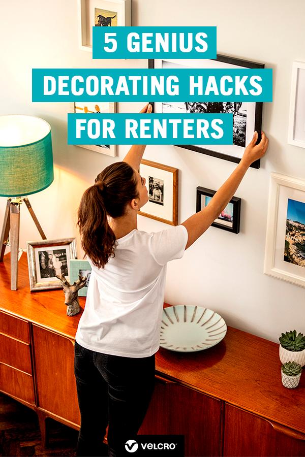 5 Genius Decorating Hacks For Renters Renters Decorating