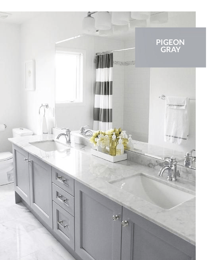 Best Top 10 Gray Cabinet Paint Colors Bathroom Remodel Master 400 x 300