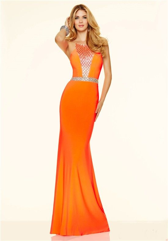 1000  images about Orange prom dress on Pinterest  Neon Prom ...