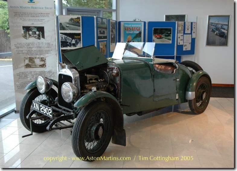 1921 Aston Martin Prototype A3 By 1915 The 1st Aston Martin Named