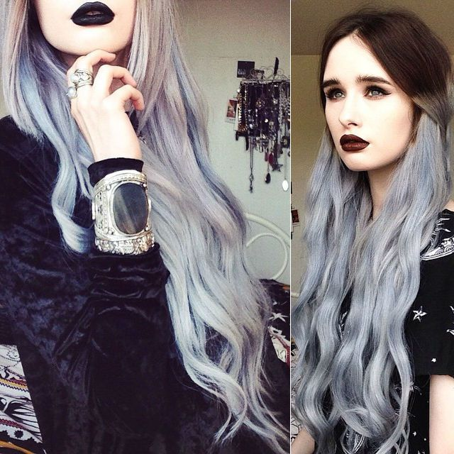 How to go from dark hair to pastel color in one set of hair how to go from dark hair to pastel color in one set of hair extensions pmusecretfo Gallery