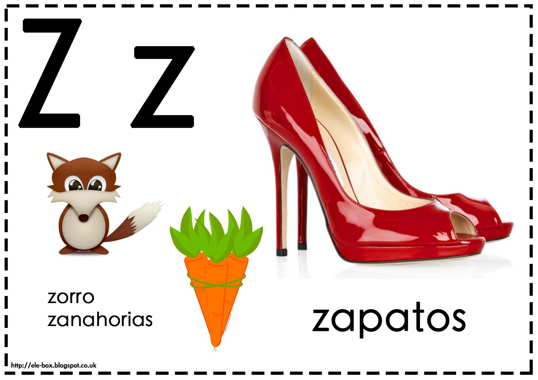 Asociamos los sonidos con las grafías convencionales - Letra Z ...