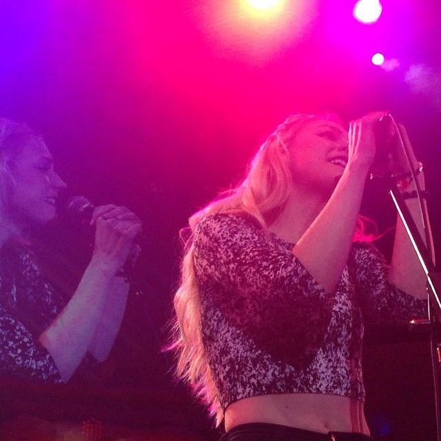 Emily Kinney was absolutely fantastic tonight at the #WolfDen! Her voice is hauntingly beautiful!!!
