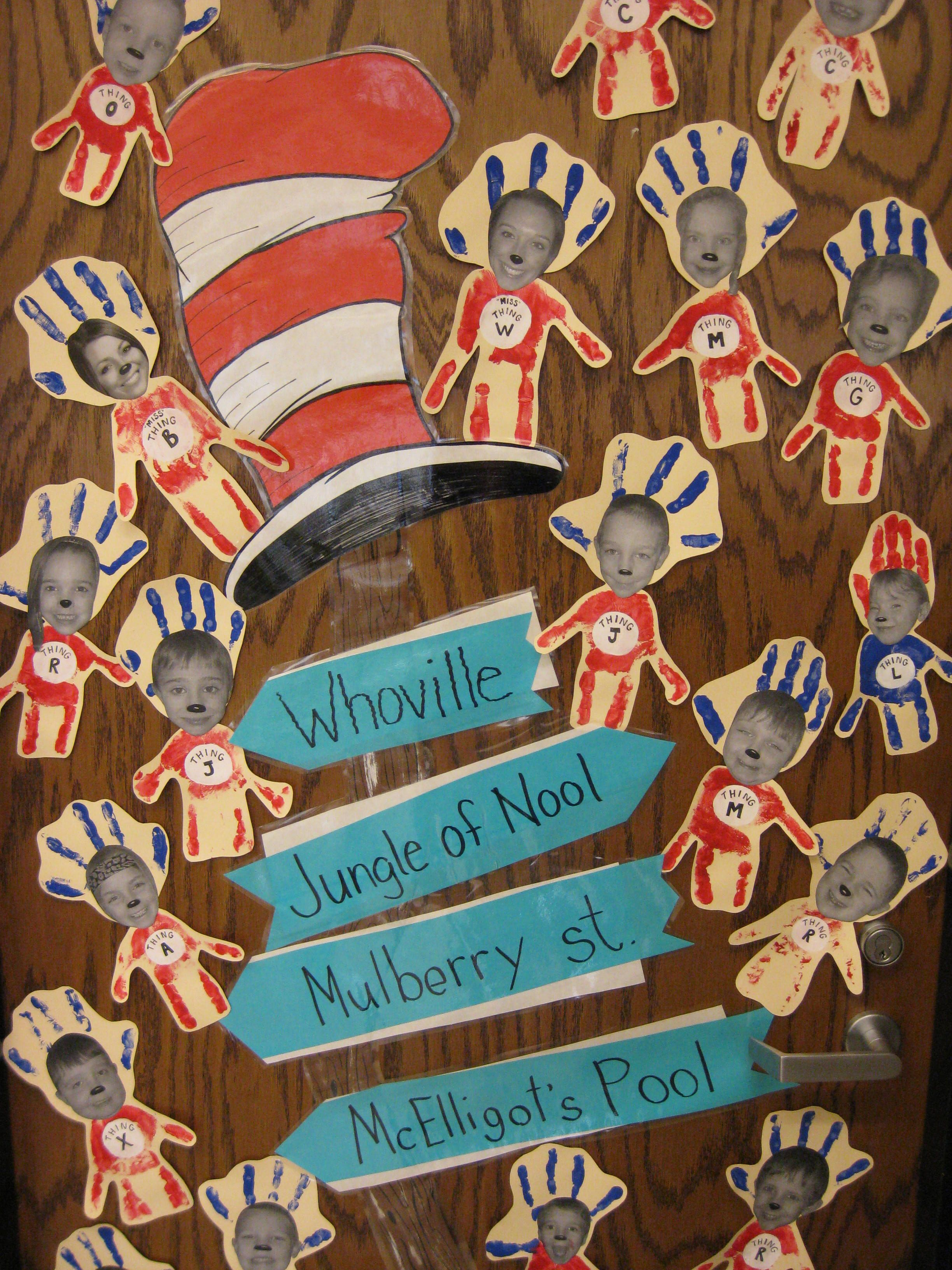 Kindergarten Dr Seuss Things To Make With Writing