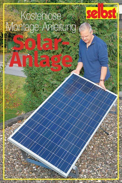 Grundwissen Solartechnik Selbst De Solaranlage Gartenhaus Solar Kleine Solaranlage