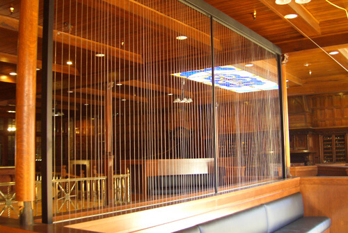 Water Gallery Custom Rain Curtain Water Curtain Tabletop