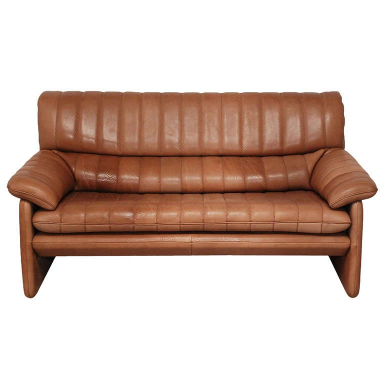 De Sede DS 85 Two Seater In Soft Buffalo Leather. Modern SofaBuffaloSofas Libraries