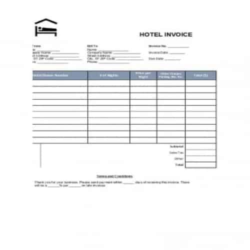 19 Best Quality Hotel Receipt Templates Besty Templates Receipt Template Invoice Template Word Free Hotel