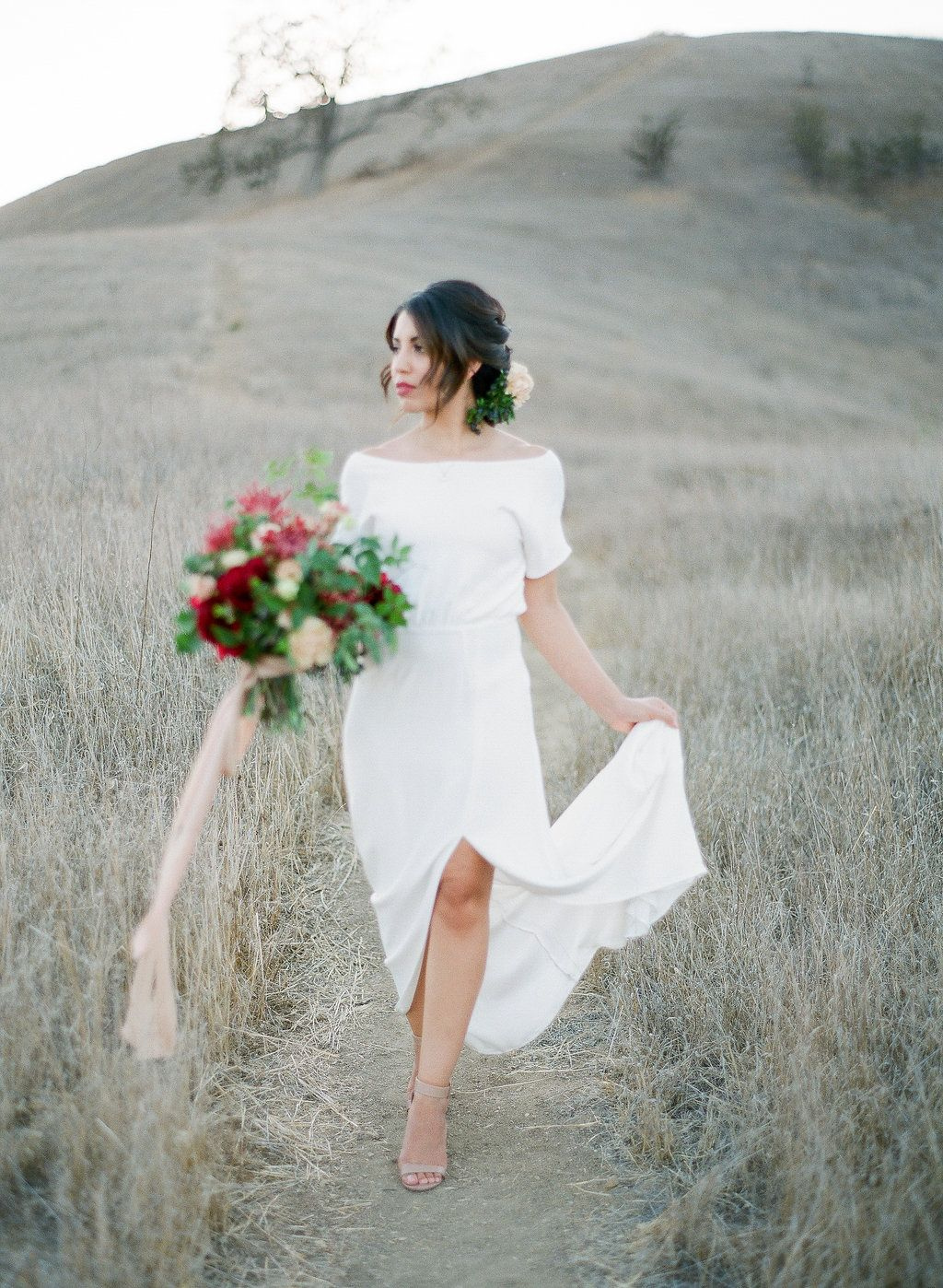 The Patricia Dress Lena Medoyeff Studio Bridal Portland