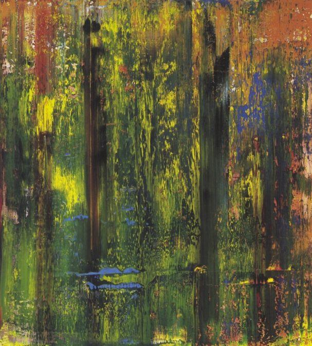 """Gerhard #Richter. Birkenau. 06 February – 29 May 2016. Im Zentrum der Frieder #Burda Ausstellung stehen abstrakte Werke von Richter, darunter so bekannte Arbeiten wie """"10 Farbtafeln"""", """"Wellblech"""", Vorhang"""" und """"Sternbild""""."""