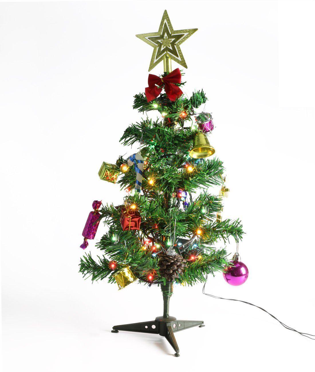 Christmas Tree Trofoty 50cm Artificial Christmas Tree with ...