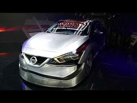 11 New 2018 Nissan Maxima Custom Star Wars Paint & Decals Wrap