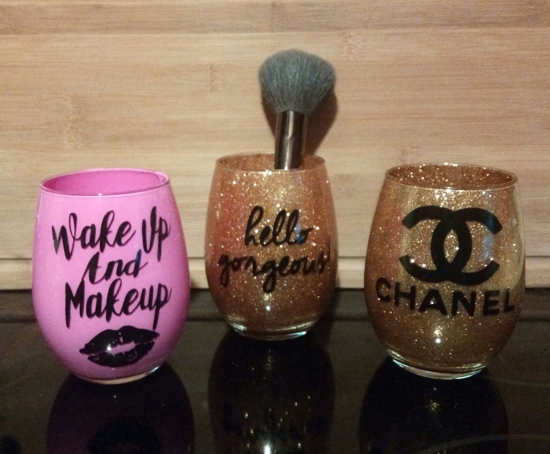 Make up brush holder by AllieDesigns16 on Etsy Custom