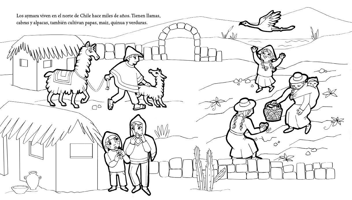 Pin de caro san en colegio | Figuras para colorear, Laminas para colorear, Chile  para niños