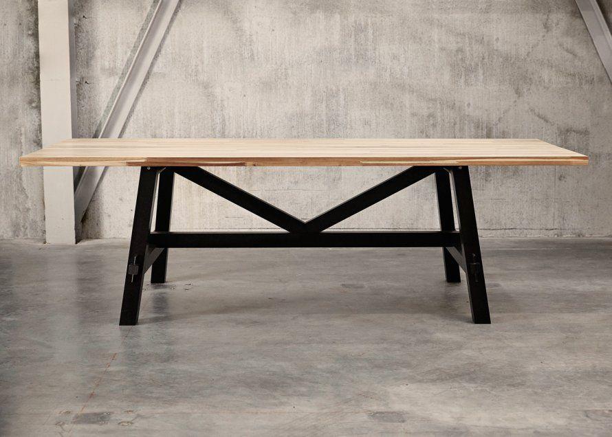 Une Table De Repas 100% Scandinave | Tables De Repas, Marie Claire