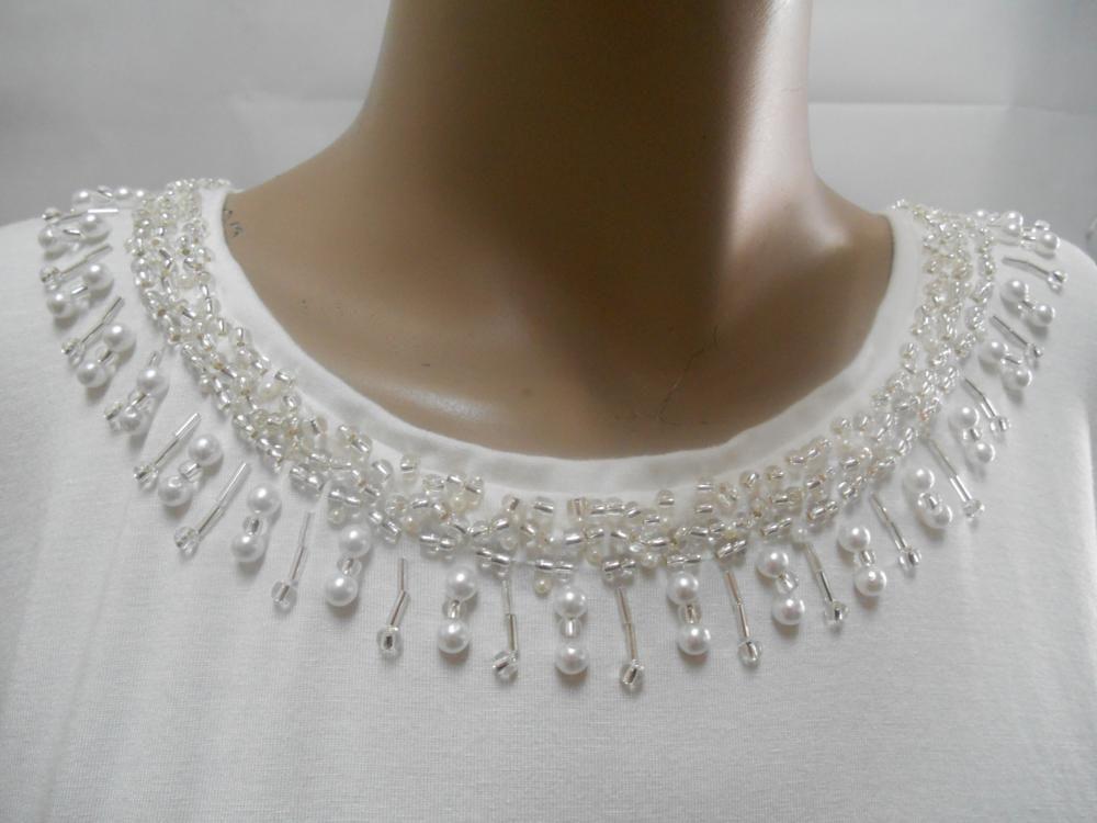 bordado perlas - Buscar con Google | BORDADOS EN PEDRERÍA ...