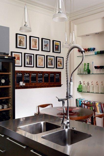 Small Vintage Prints - Kitchen Design Ideas & Images (houseandgarden.co.uk)