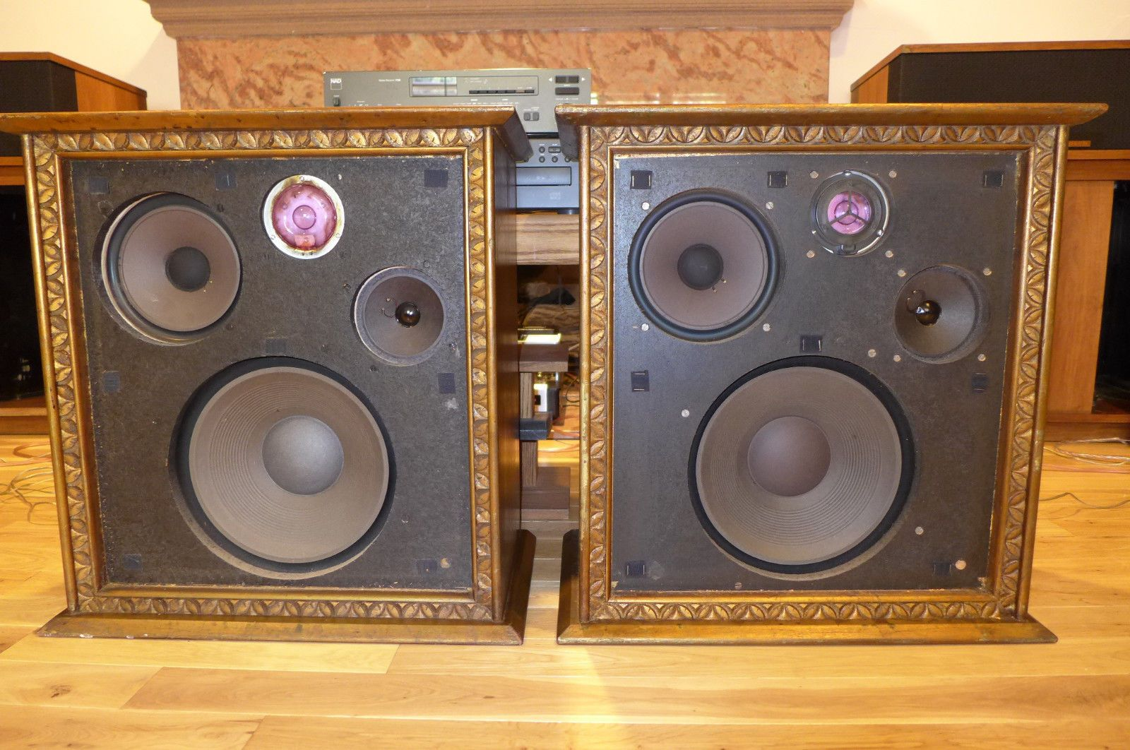 Vintage wharfedale W70d Audiophile speakers Made in