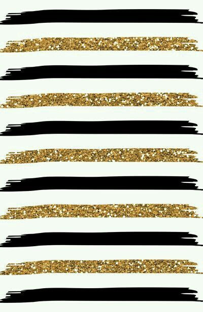 Gold Glitter Black Stripes On White Gold Wallpaper Iphone Gold Art Print Phone Wallpaper