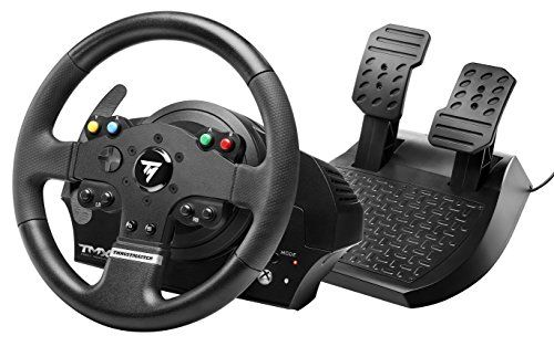 Thrustmaster tmx force feedback racing wheel for xbox one and thrustmaster tmx force feedback racing wheel for xbox one and windows 900 force feedback base mixed belt pulley and gears system metal ball bearing axle publicscrutiny Choice Image