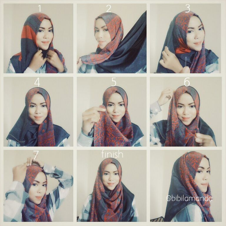 Crinkle Shawl Hijab Tutorial Hijab Tutorial Hijab Fashion Hijab
