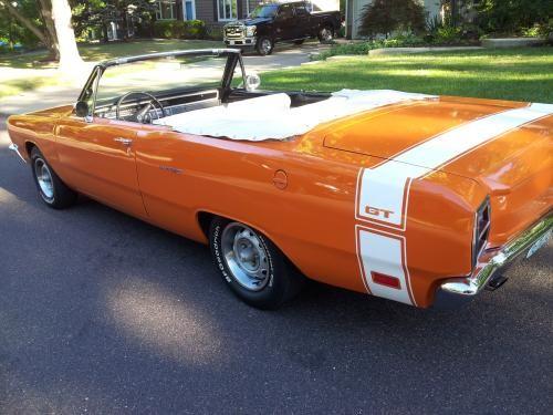 Sold 1969 Dart Gt Convertible Dodge Muscle Cars Mopar