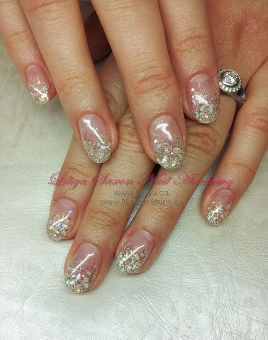Love The Nails Crushed Seashell Nails Trendy Nail Art Seashell Nails Hair And Nails