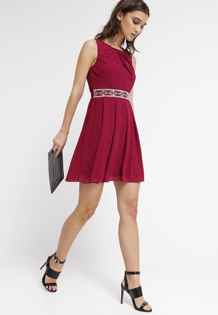 CECILE - Cocktailkleid/festliches Kleid - burgundy | Tfnc, Summer ...