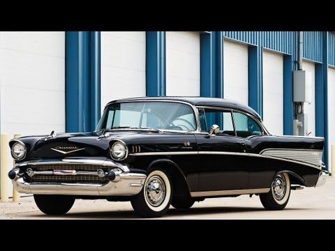 1957 Chevrolet Bel Air Sport Coupe Fuel Injected V 8 Chevrolet