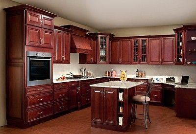 All Solid Maple Wood Kitchen Cabinets
