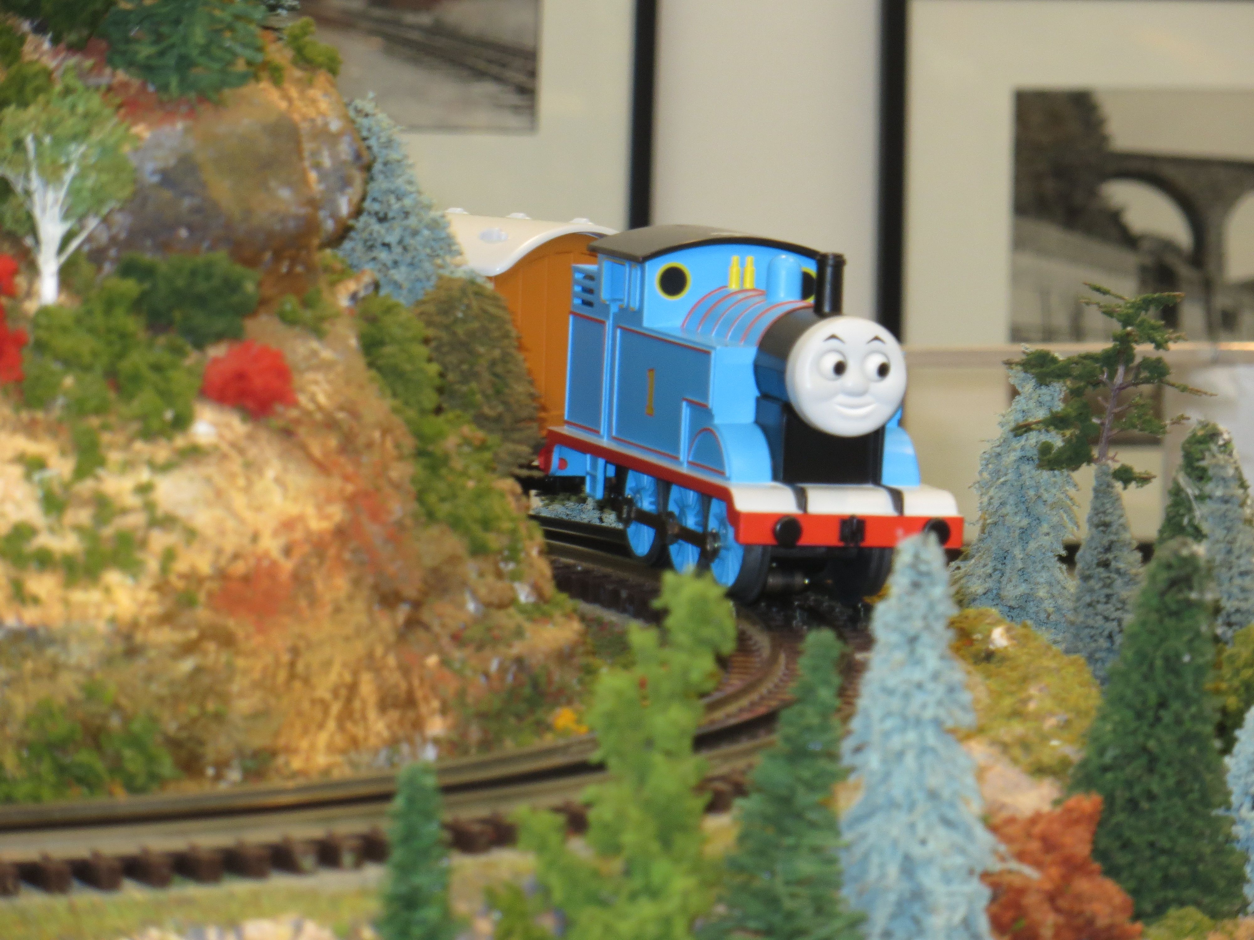 Thomas the Train is at the Morris Museum til January 26th ...