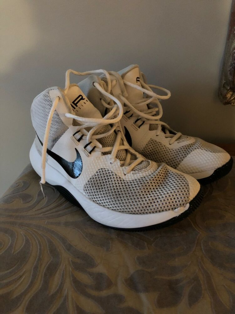 cc996b52a5f30 Nike Air Precision Basketball Sneakers Size Womens 7.5 Great ...
