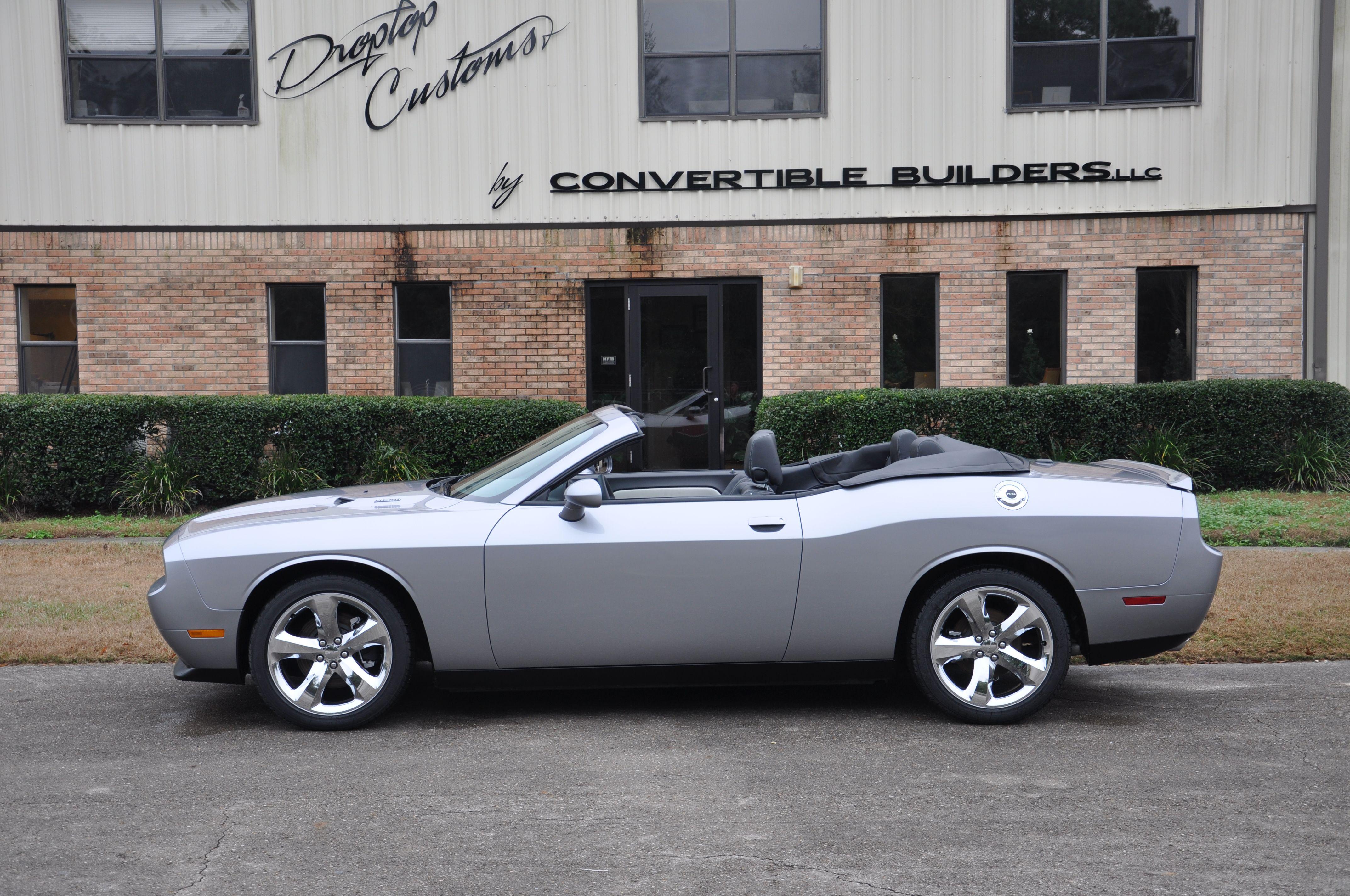 Dodge Challenger Convertible >> Silver Dodge Challenger Convertible Dodge Challenger