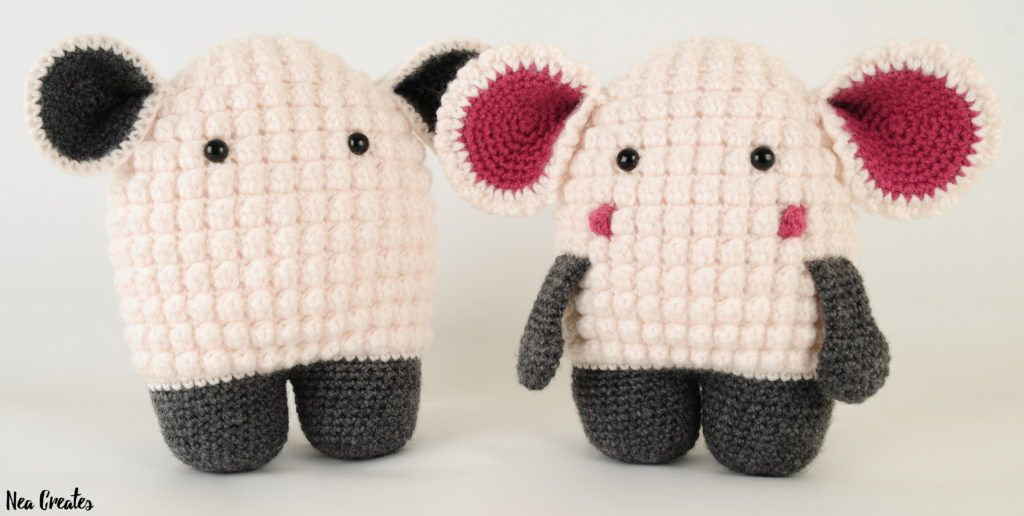 Hugo the Lamb: Free Amigurumi Pattern