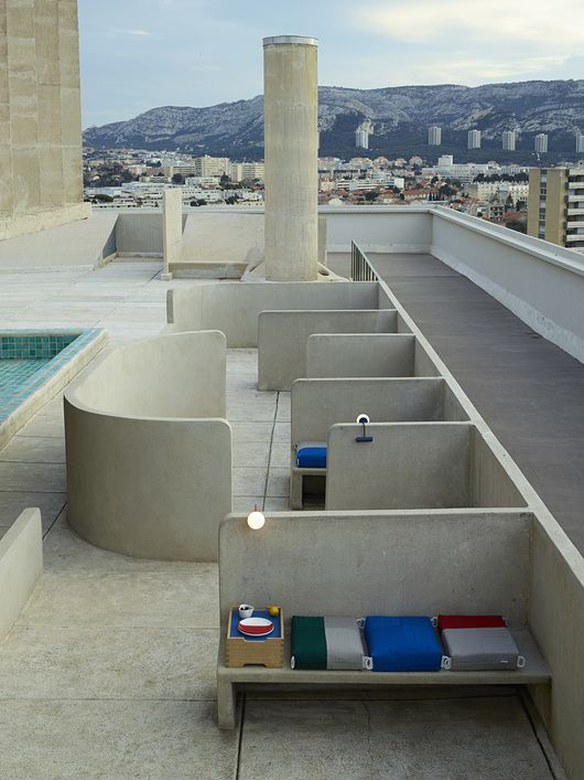 ECAL takes over Apartment 50 in Le Corbusier's Marseilles housing complex | sightunseen.com