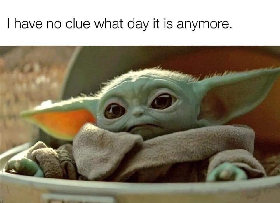 Baby Yoda On Instagram Follow Babyyodaitmemes For More Credit Facebook Disney Babyyoda Yoda Meme Yoda Funny Really Funny Memes