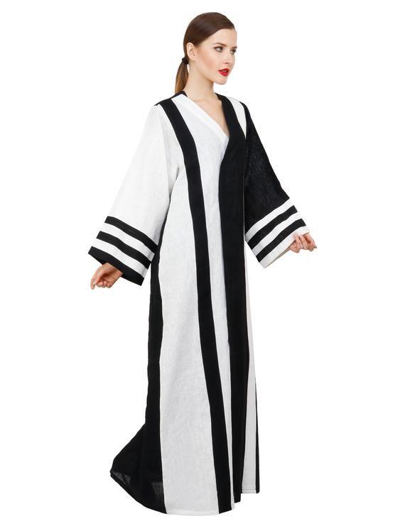 Alnuqi Linen casual Abaya Eid Ramadan Dubai collection