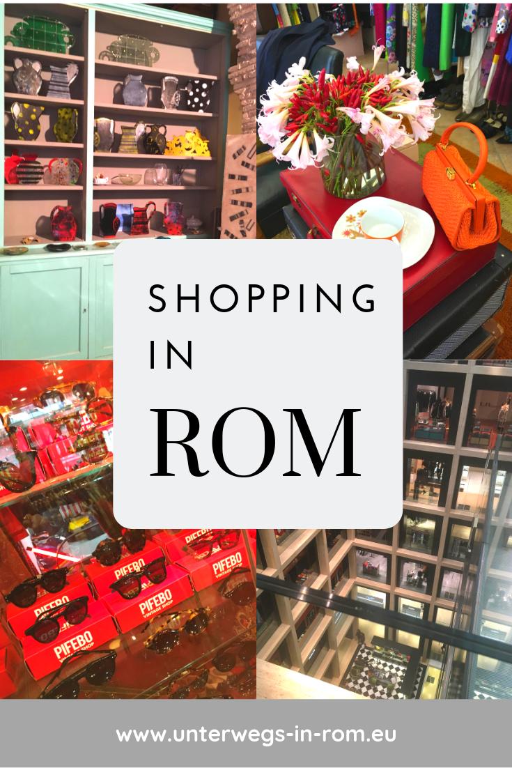 Einkaufen in Rom: Ein Shopping-Marathon durch die Ewige Stadt #favoriteplaces