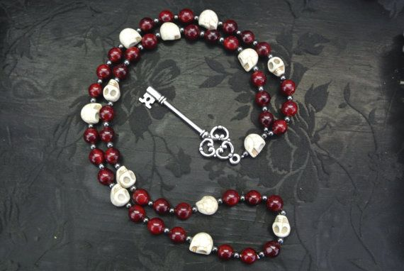 Hekate Prayer Beads by MagicallyCrafted on Etsy