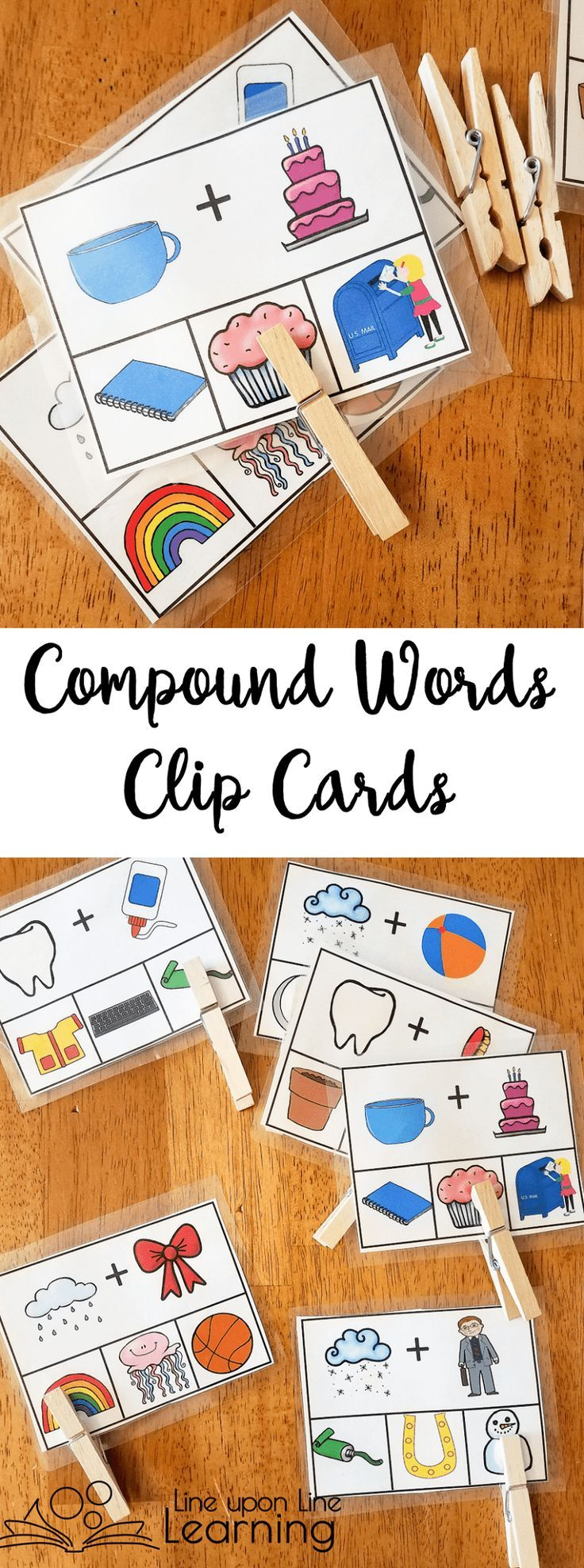 Compound Words Activities PreReading Skills Compound