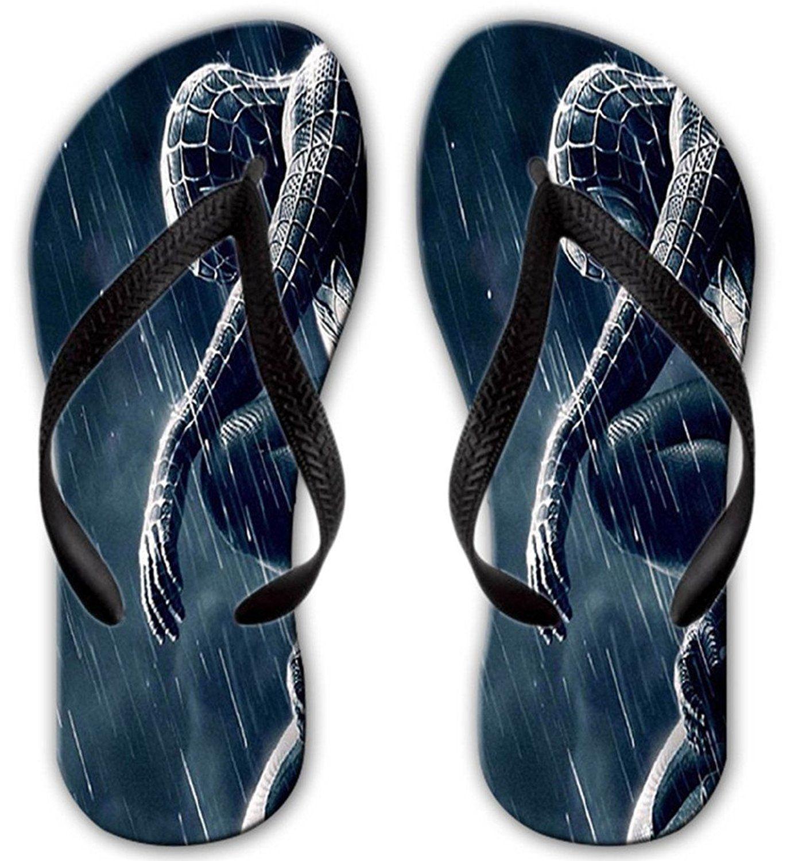 1662fa0358449 Unique Unisex Printed Spiderman 3 Rain Ideas Beach Flip Flops Sandals For  Men