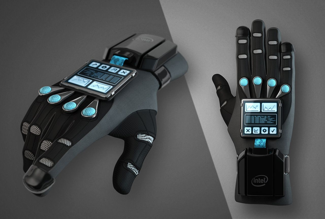 Dataglove for Virtual Reality
