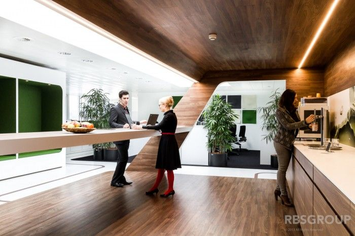 Lovely Compass Groups New Offices By RBS Group