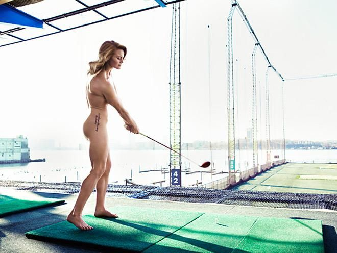 Carly Booth, Live Naked Golfers