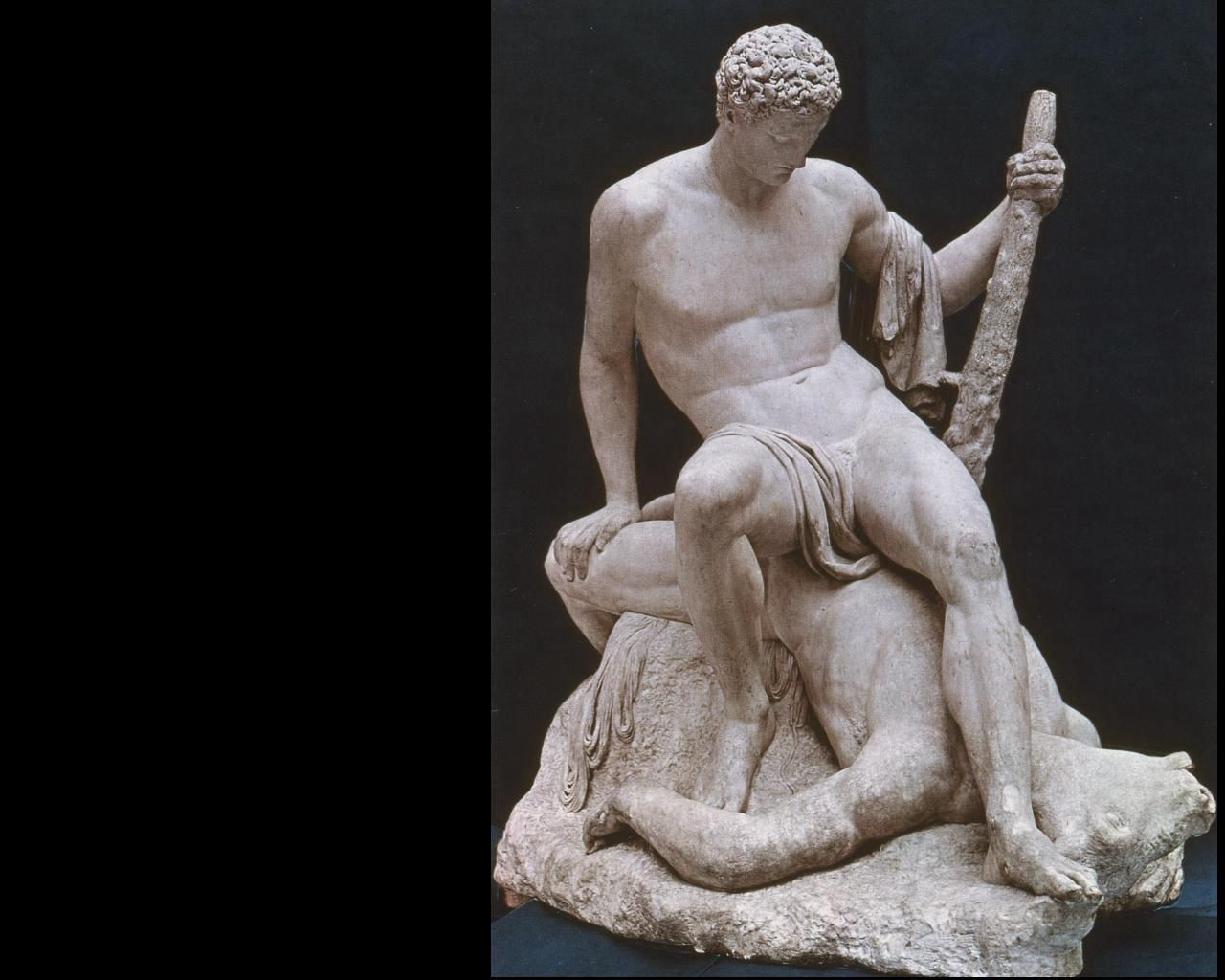 Theseus And The Minotaur Canova