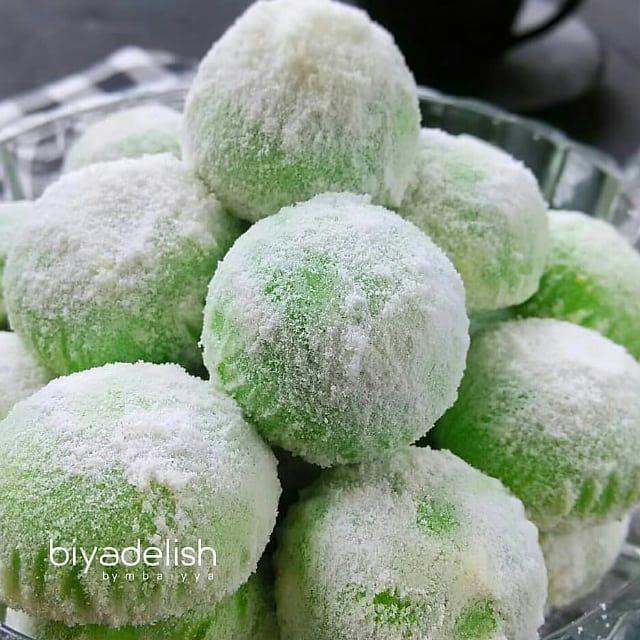 54 Likes 0 Comments Resep Kue Cake Dessert Kuweh Id On Instagram Putri Salju Pandan Ala Mbaiyya Bahan 230 Gr Butter 10 Resep Kue Kue Putri Salju