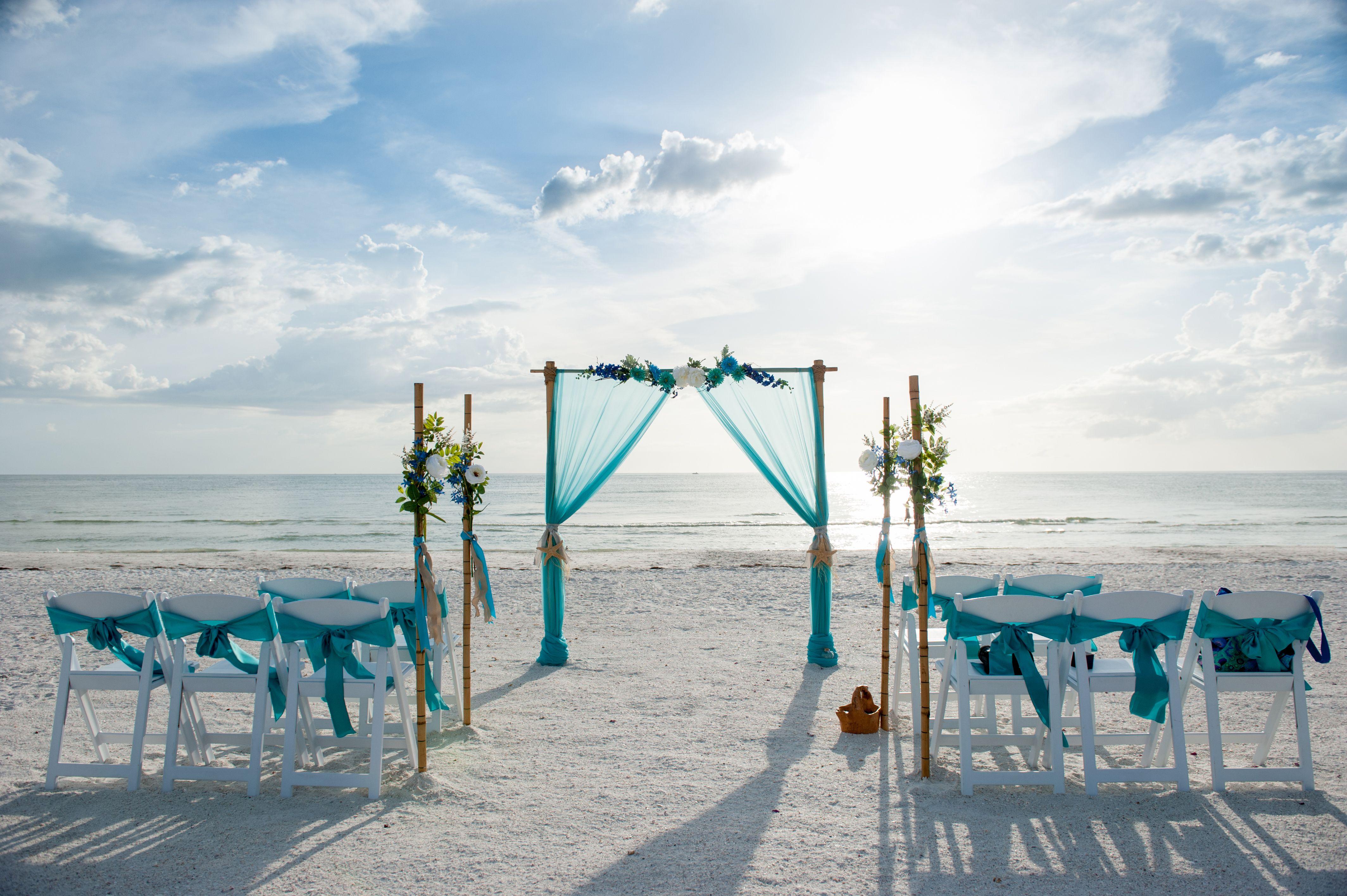 Teal Beach Wedding Arch Teal Beach Wedding Florida Beach Wedding Beach Wedding Arch