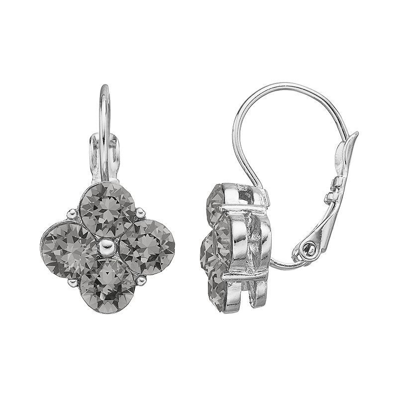 Dana Buchman Quatrefoil Drop Earrings, Women's,